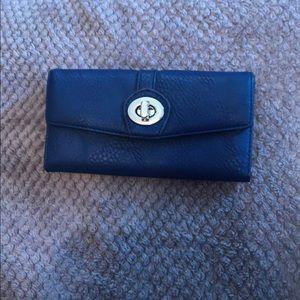 Dark Blue Wallet